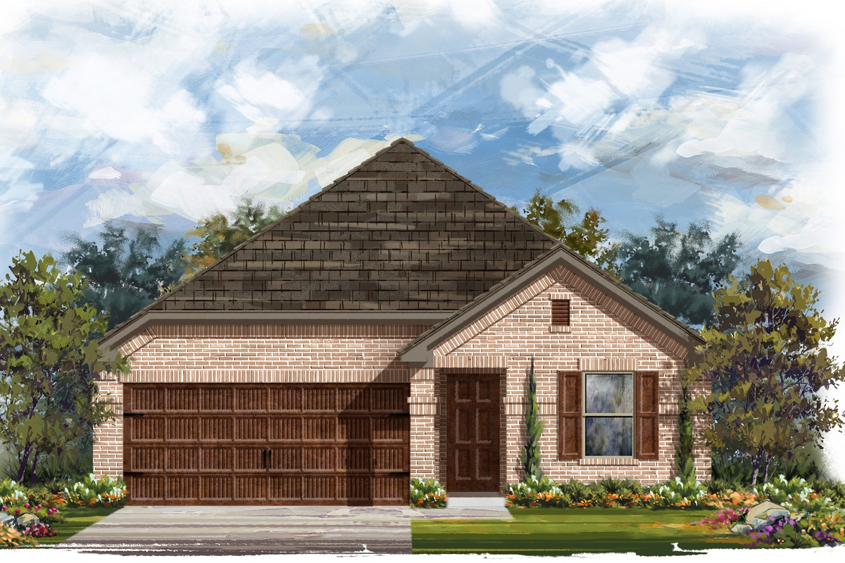 New Homes in Round Rock, TX - Plan E-1647
