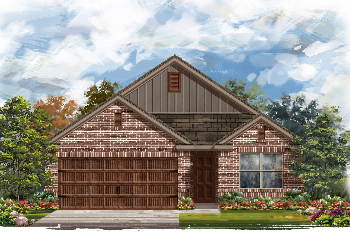 New Homes in Round Rock, TX - Plan E-1647 I