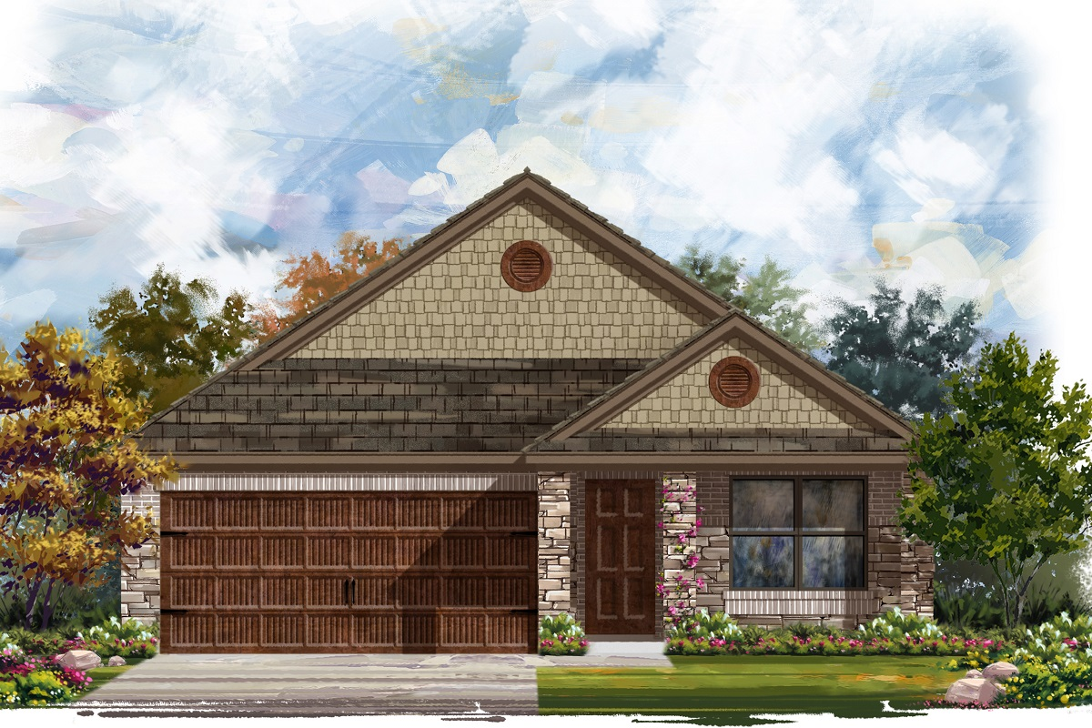 New Homes in Round Rock, TX - Plan E-1647 J