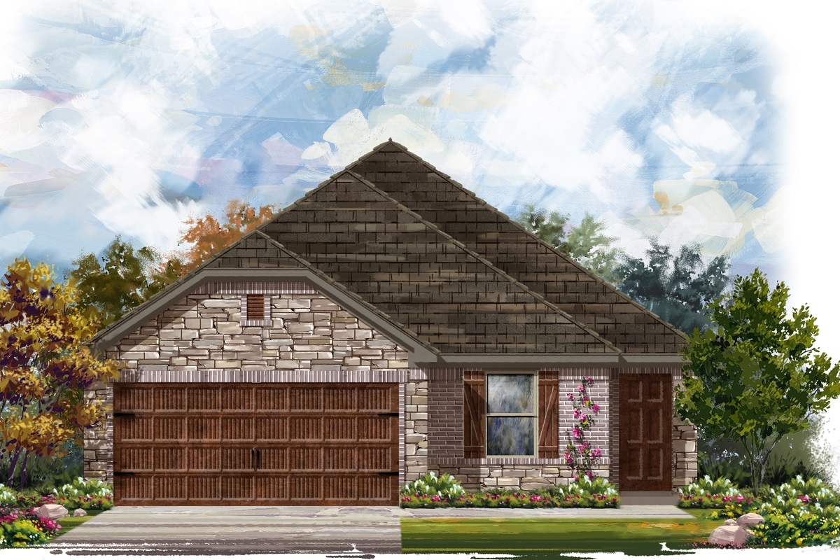 New Homes in Round Rock, TX - Elevation J