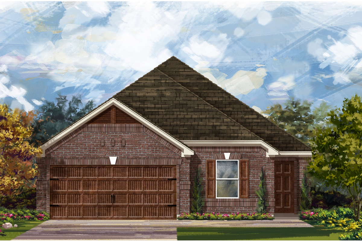 New Homes in Round Rock, TX - Plan E-1892