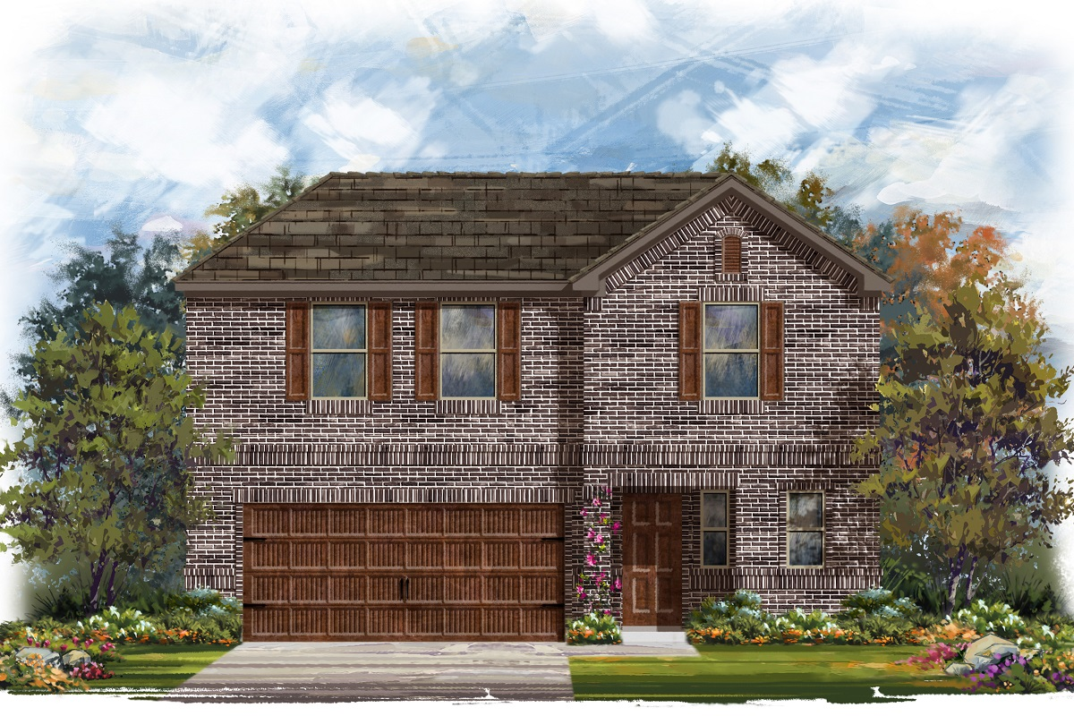 New Homes in Round Rock, TX - Plan E-2412 H