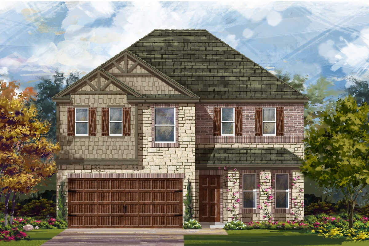 New Homes in Round Rock, TX - Plan E-2898