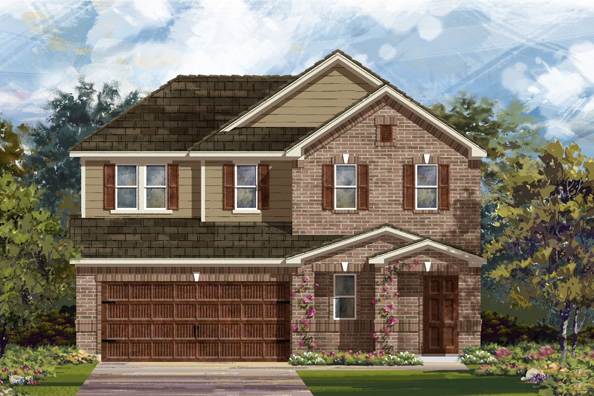 New Homes in Round Rock, TX - Plan E-2516