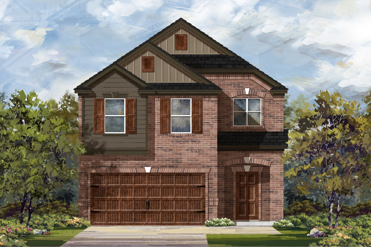 New Homes in Round Rock, TX - Elevation L