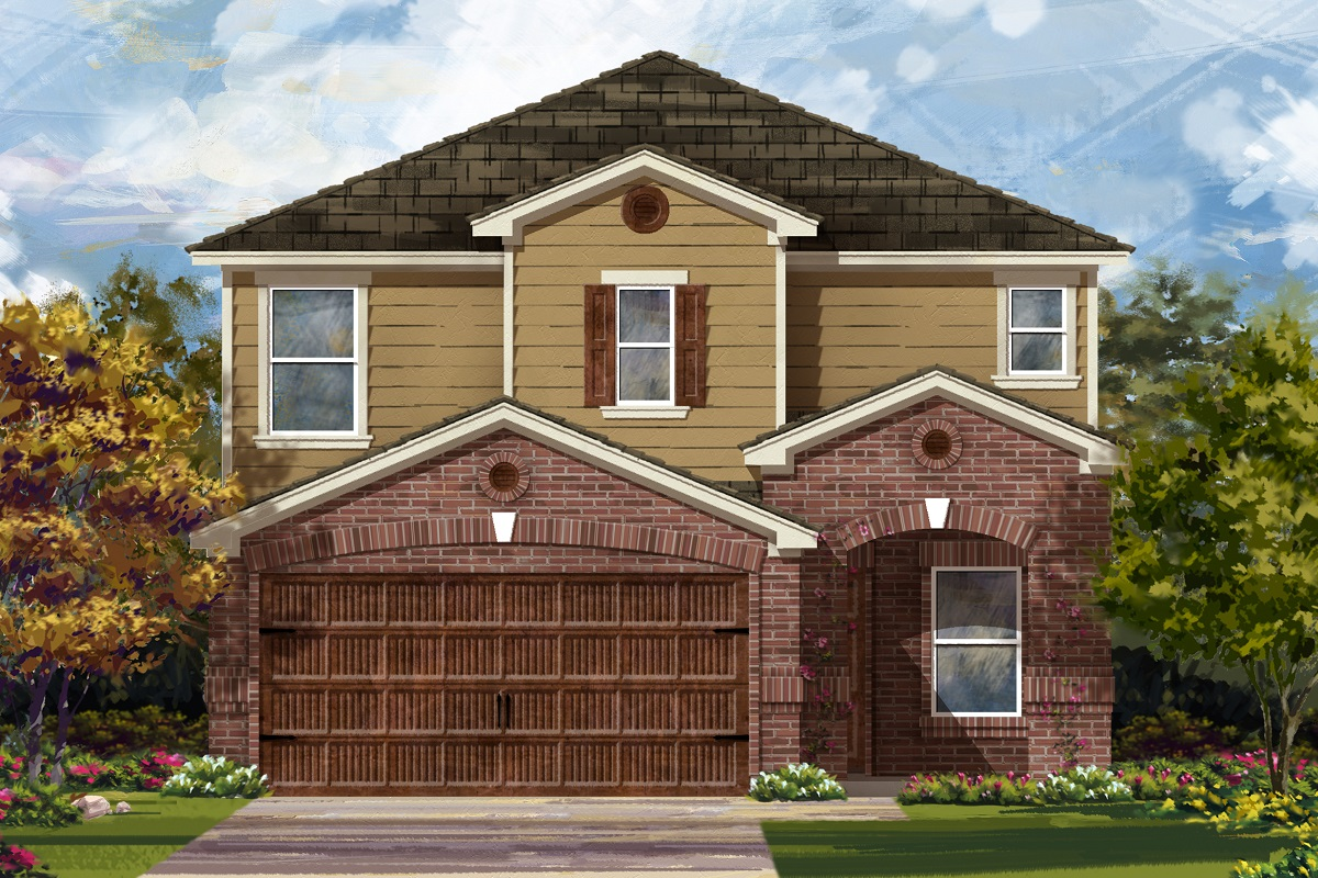 New Homes in Round Rock, TX - Plan 2411