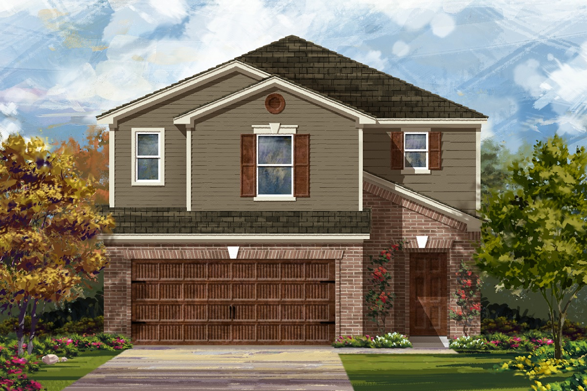 New Homes in Round Rock, TX - Elevation I