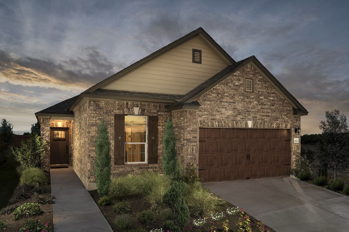 New Homes in Round Rock, TX - Plan E-1694 Modeled