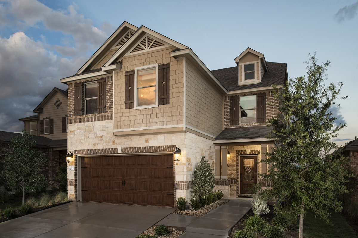 New Homes in Round Rock, TX - Plan 1909 Modeled