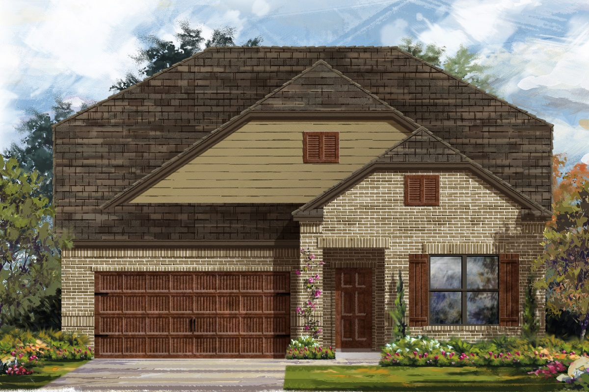 New Homes in Leander, TX - Haven Oaks Plan 2655 Elevation B