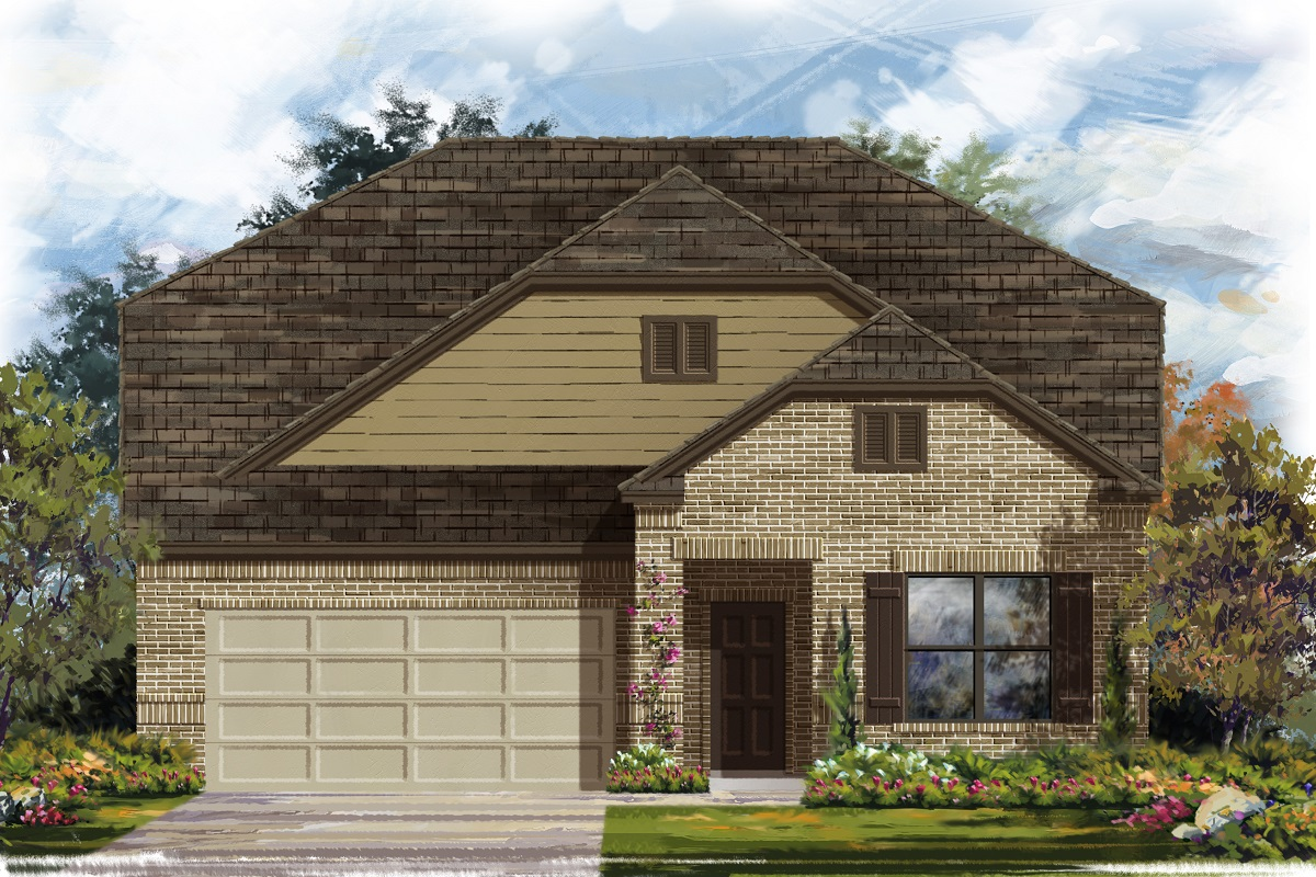 New Homes in Leander, TX - Elevation B