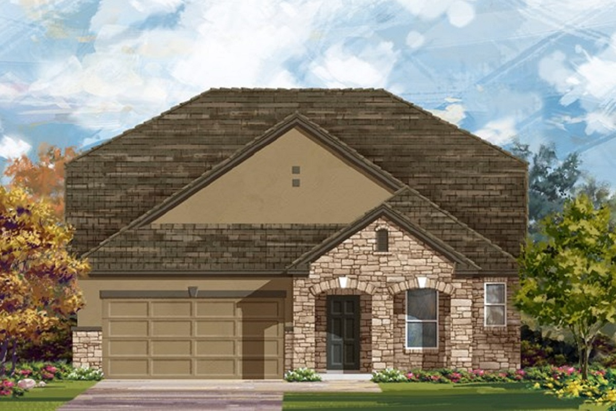 New Homes in Leander, TX - Elevation D