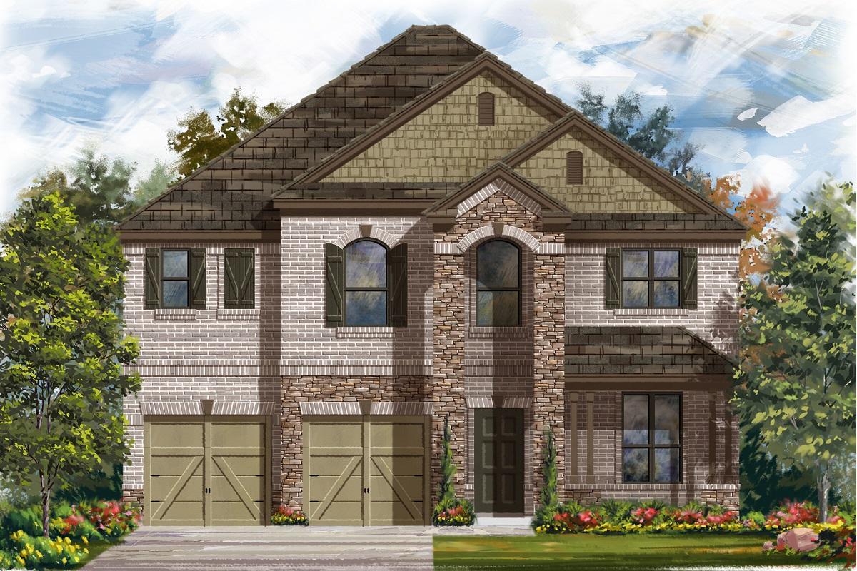 New Homes in Leander, TX - Haven Oaks Plan 2755 Elevation C