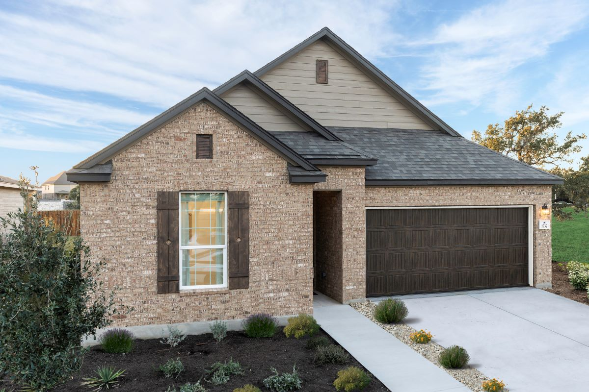 New Homes in Leander, TX - Plan 1491 Modeled
