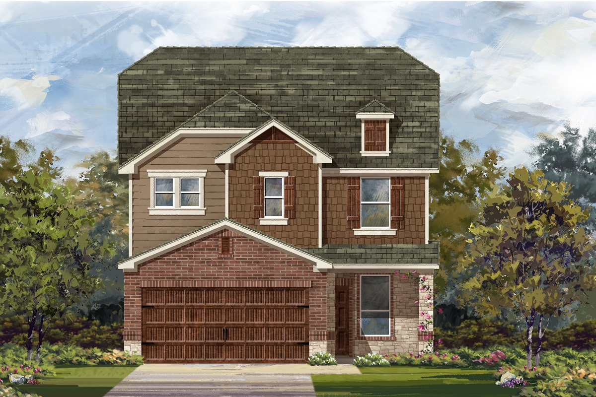 New Homes in Uhland, TX - Plan 2411