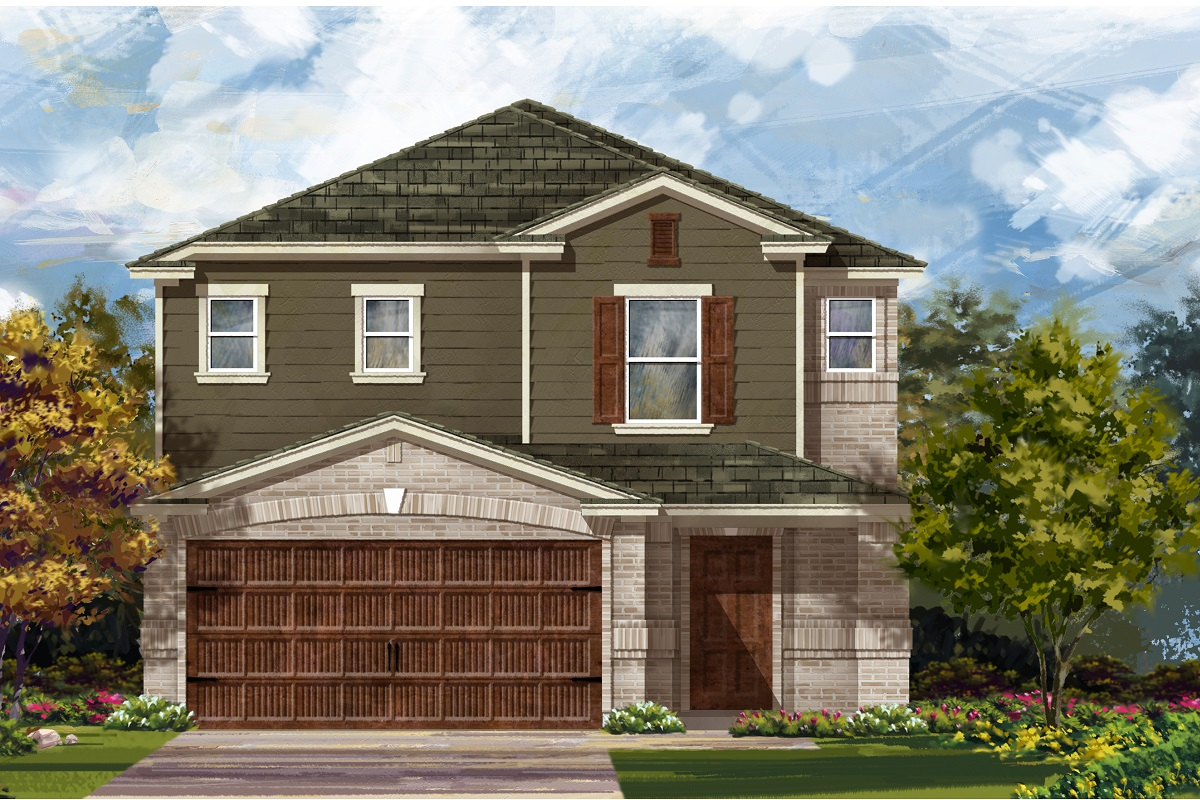 New Homes in Uhland, TX - Plan 2495