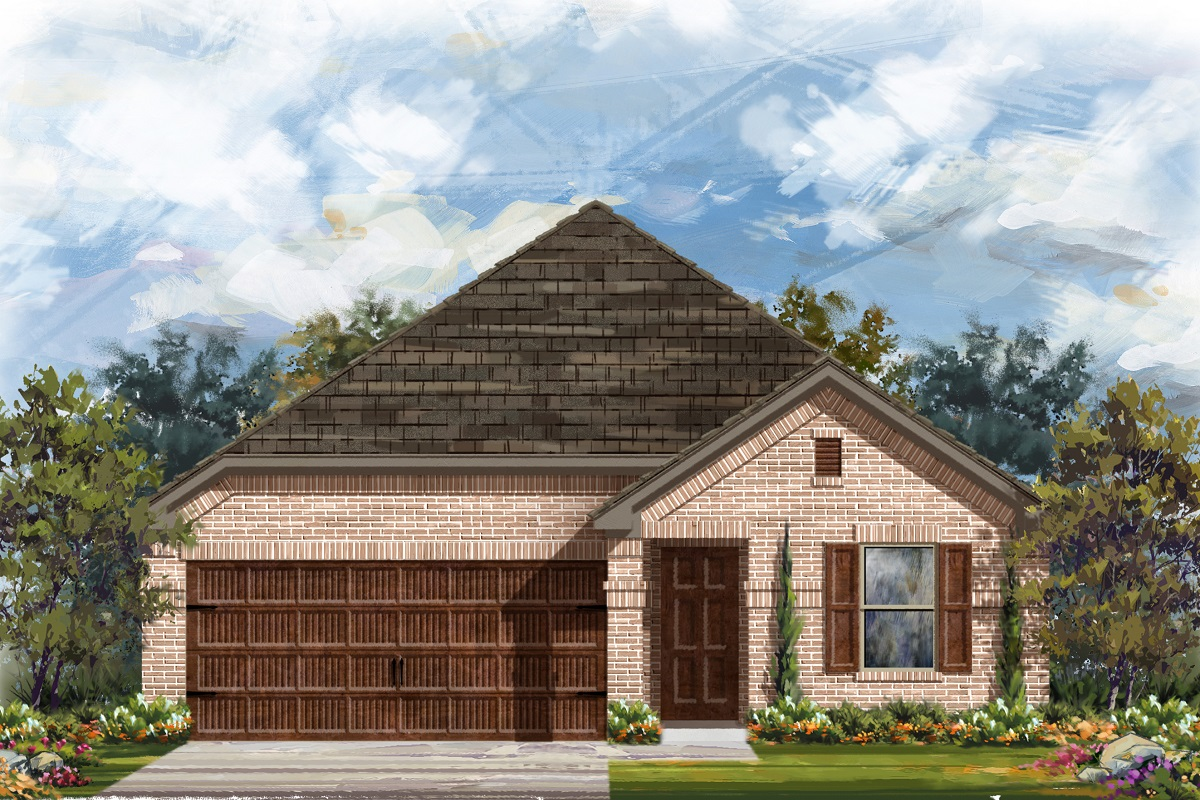New Homes in Uhland, TX - Plan E-1647 H