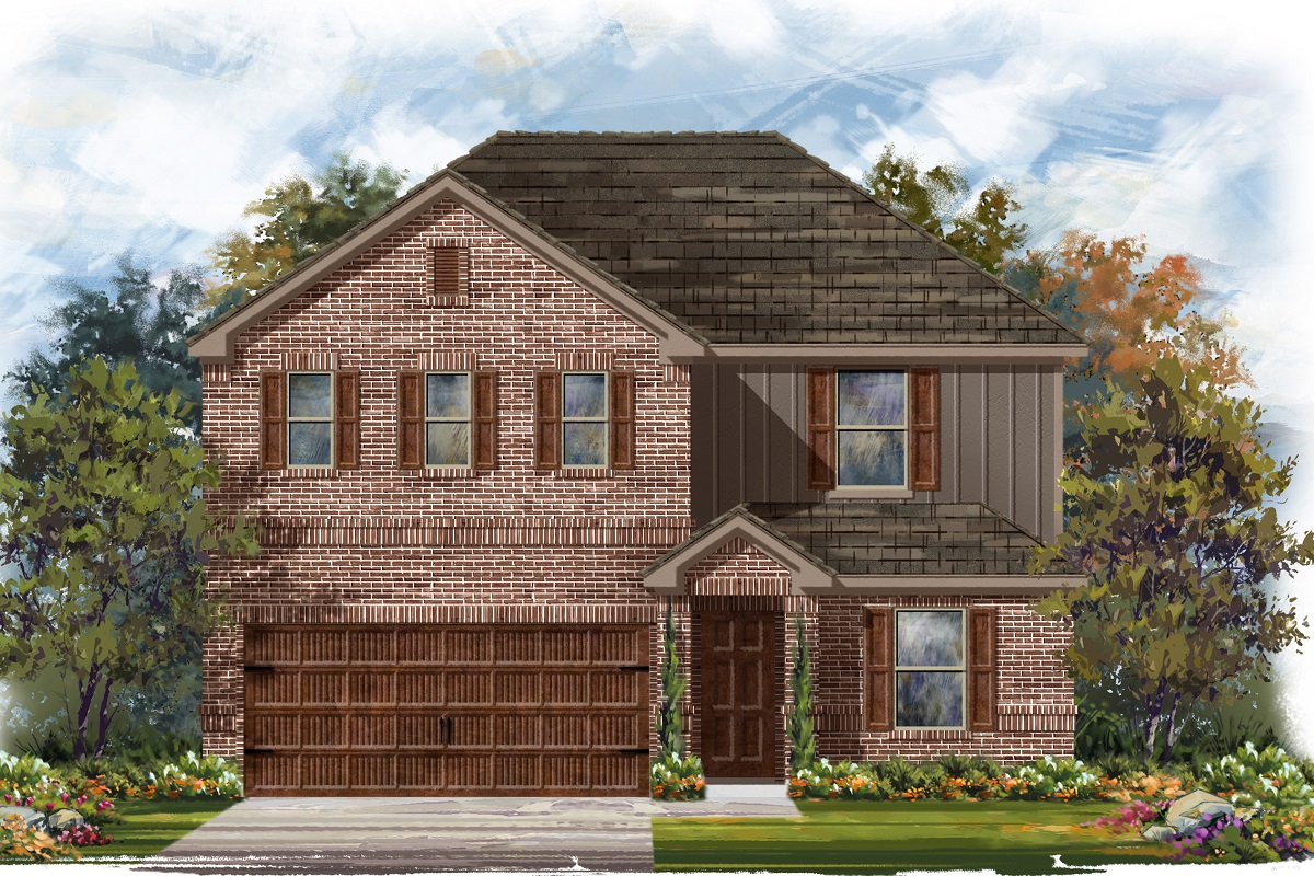 New Homes in Uhland, TX - Plan 2403