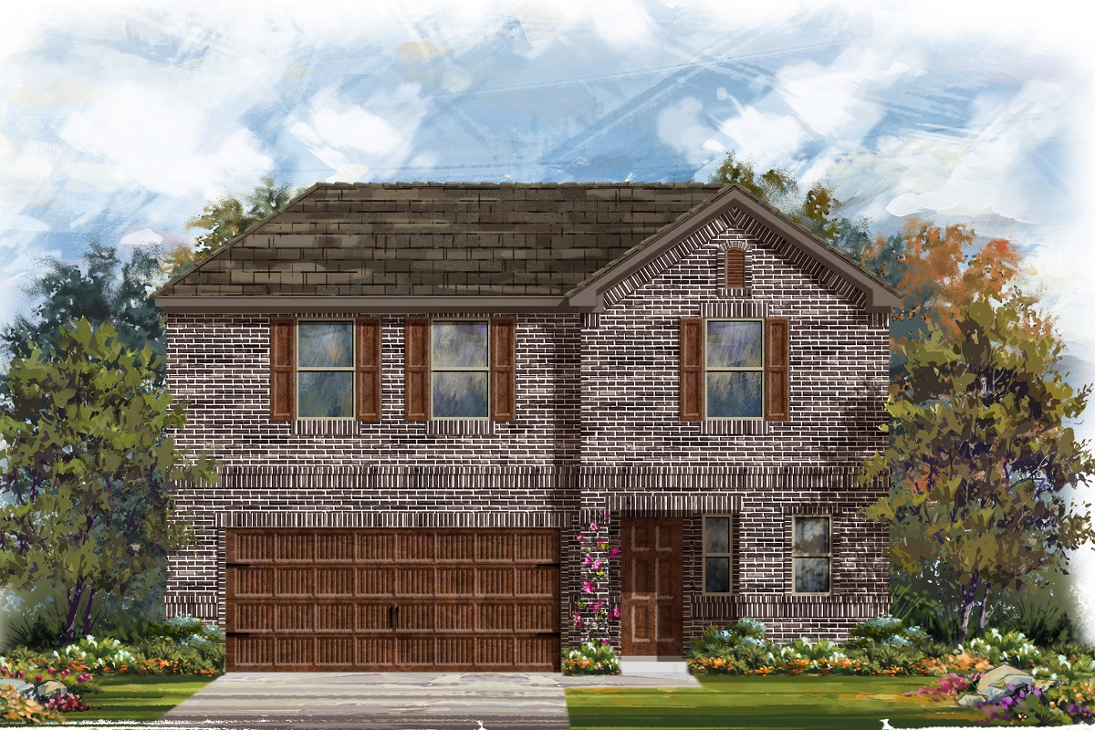 New Homes in Uhland, TX - Plan E-2412 H