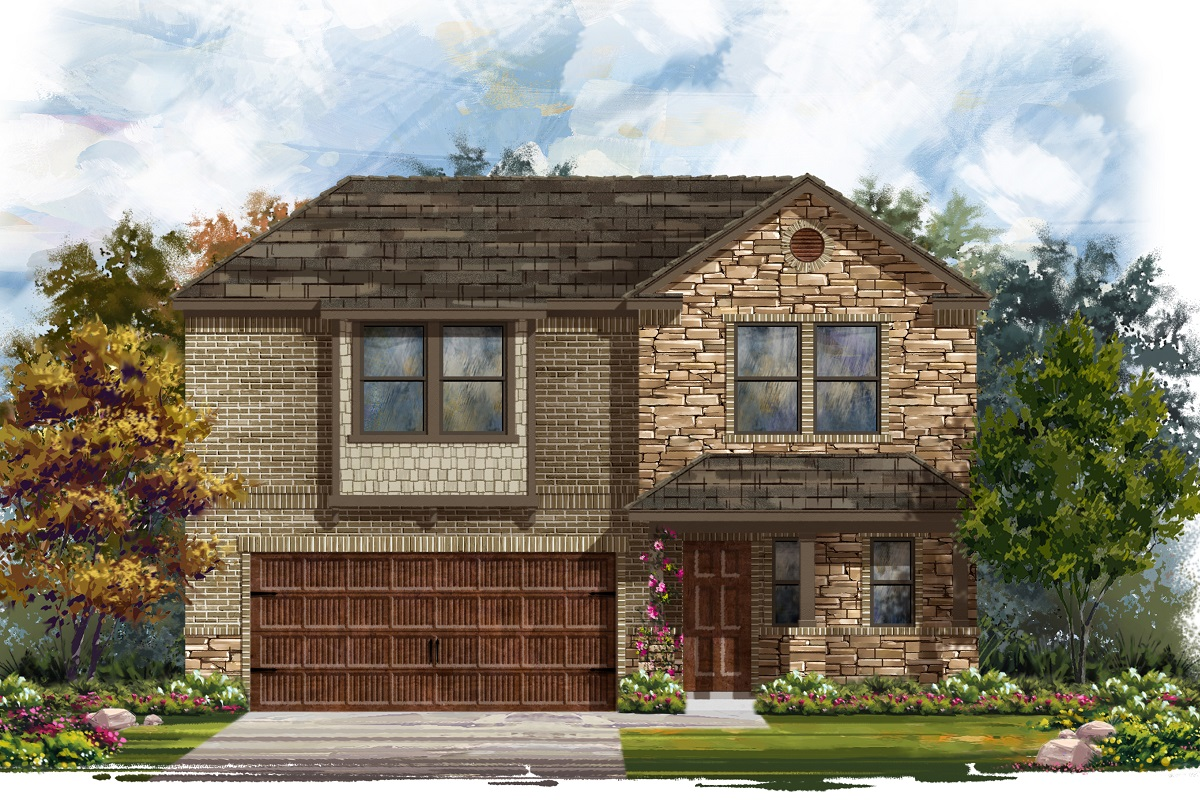 New Homes in Uhland, TX - Plan E-2412 J