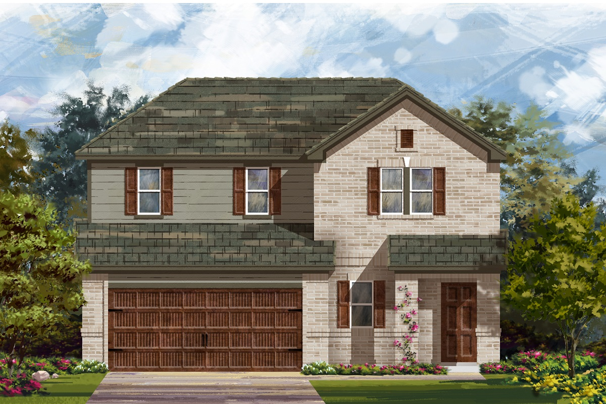 New Homes in Uhland, TX - Plan E-2516 H