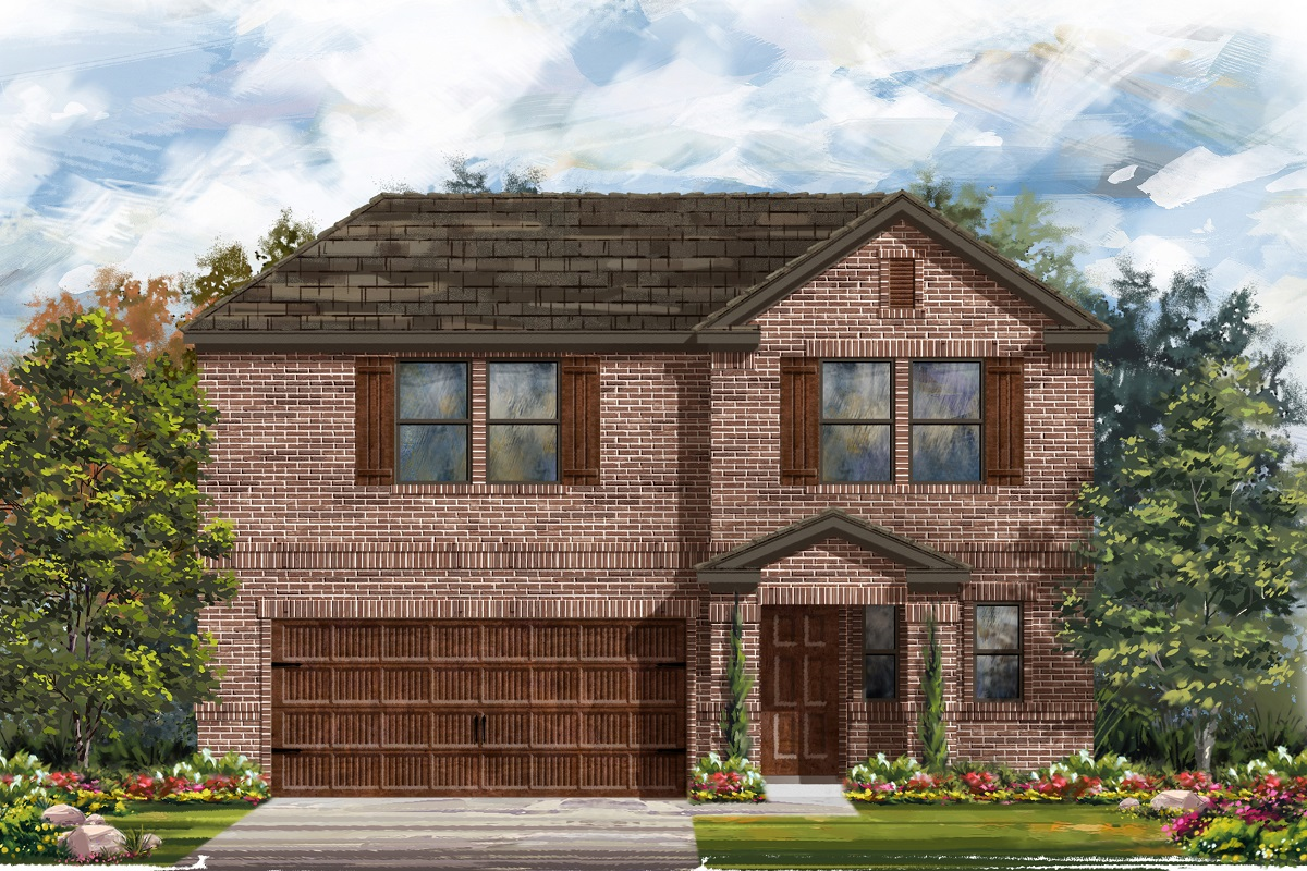 New Homes in Uhland, TX - Plan E-2412 I