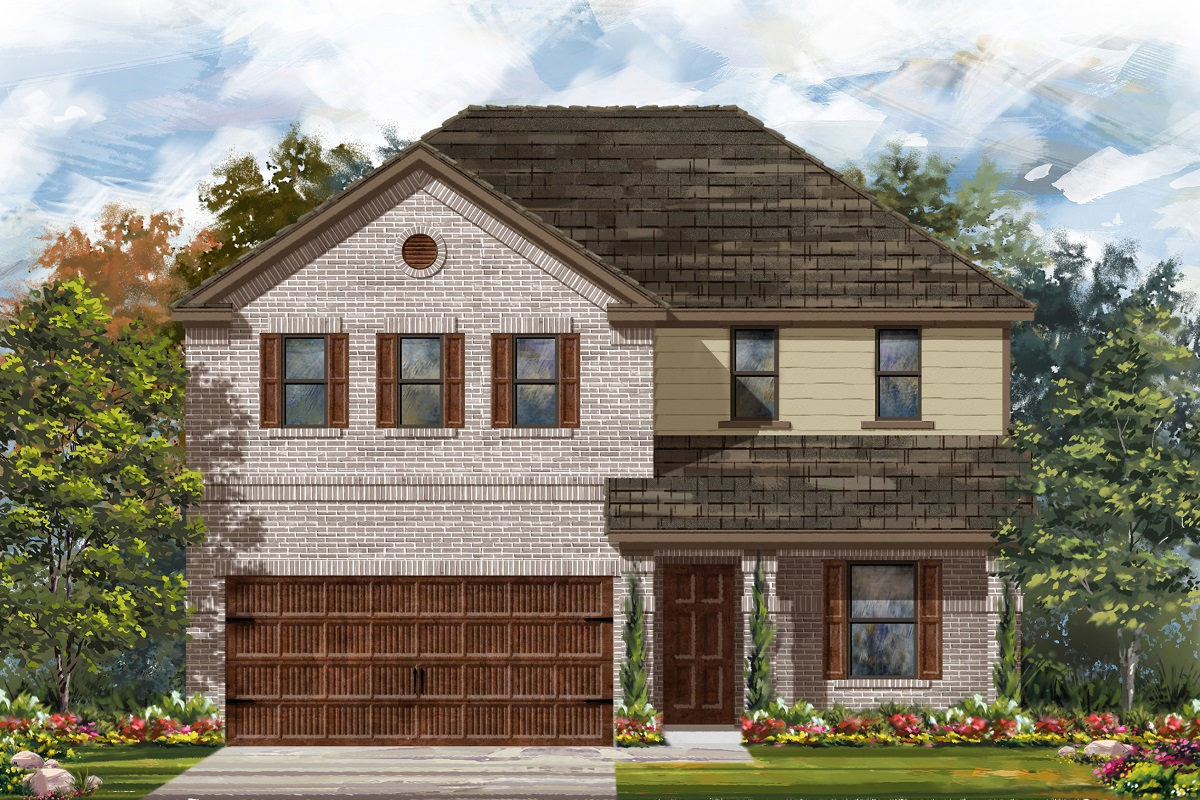 New Homes in Uhland, TX - Highlands at Grist Mill Plan 2403 Elevation I