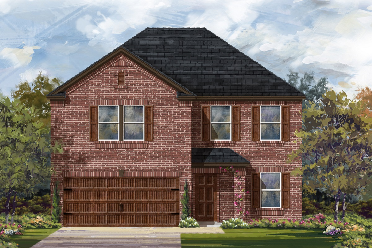 New Homes in Uhland, TX - Highlands at Grist Mill Plan 2898 Elevation H
