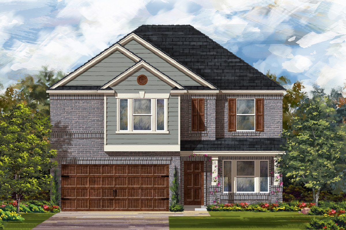 New Homes in Uhland, TX - Highlands at Grist Mill Plan 2898 Elevation I