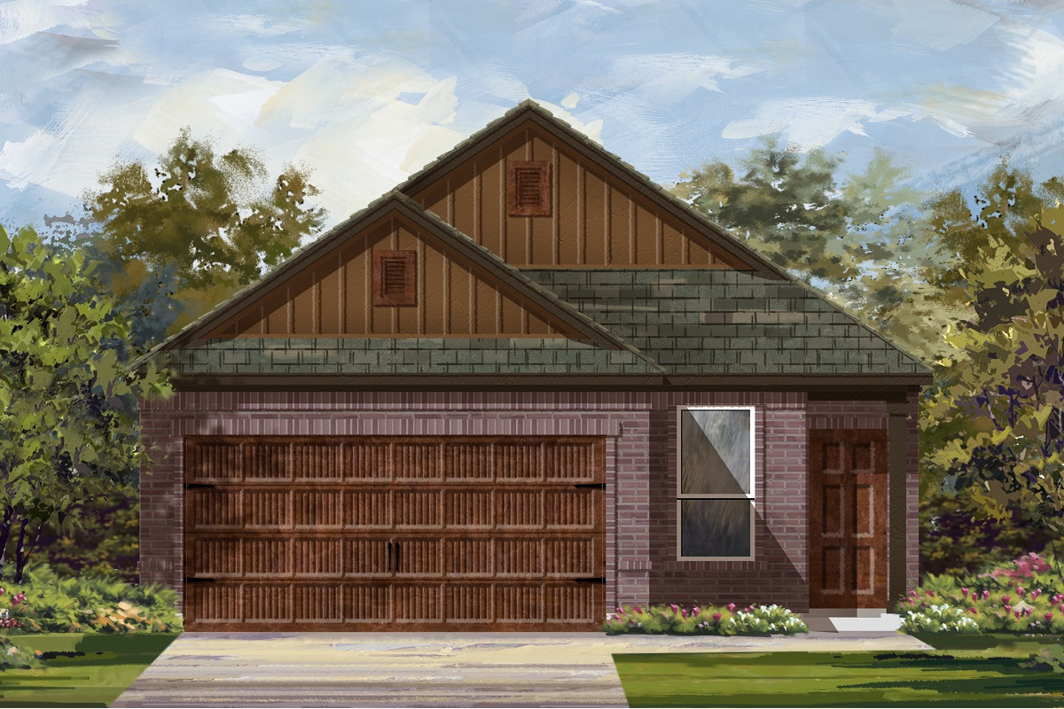 New Homes in Uhland, TX - Elevation L