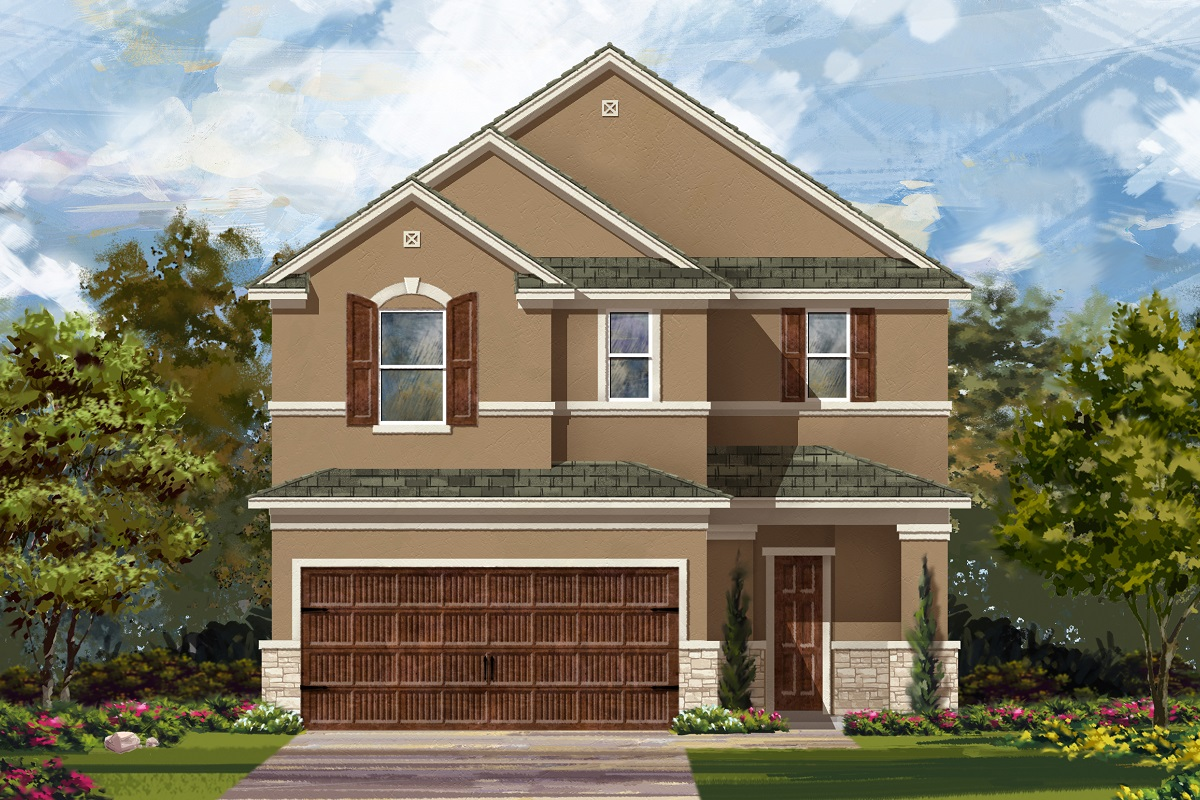 New Homes in Uhland, TX - Elevation J