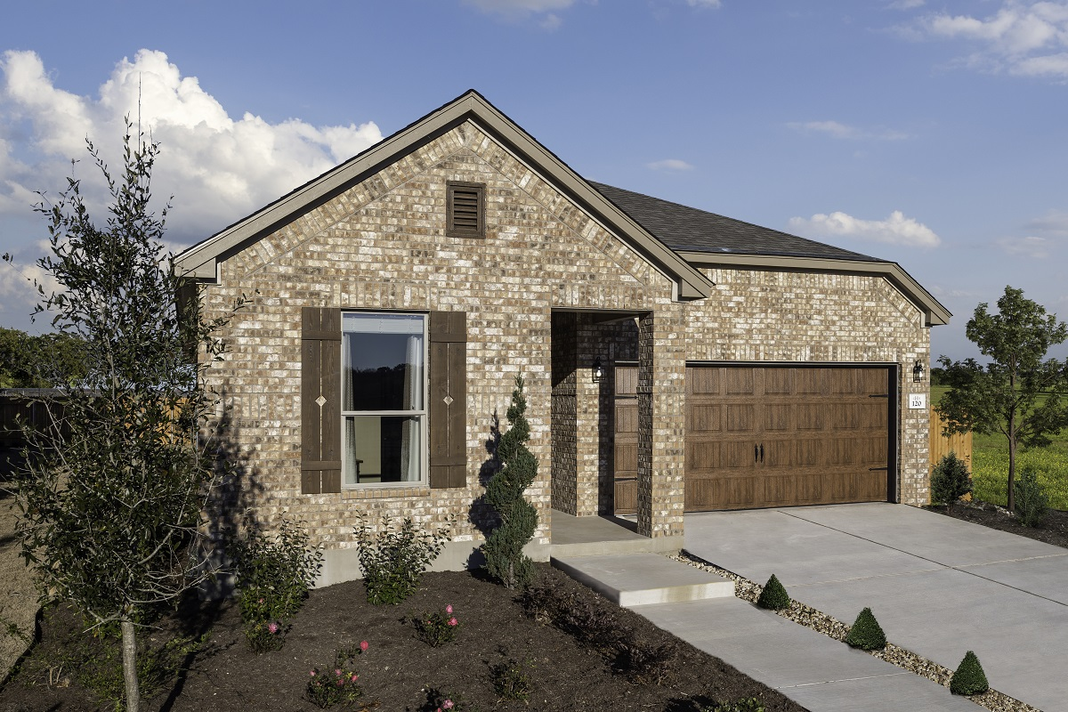 New Homes in Uhland, TX - Highlands at Grist Mill Plan 1647