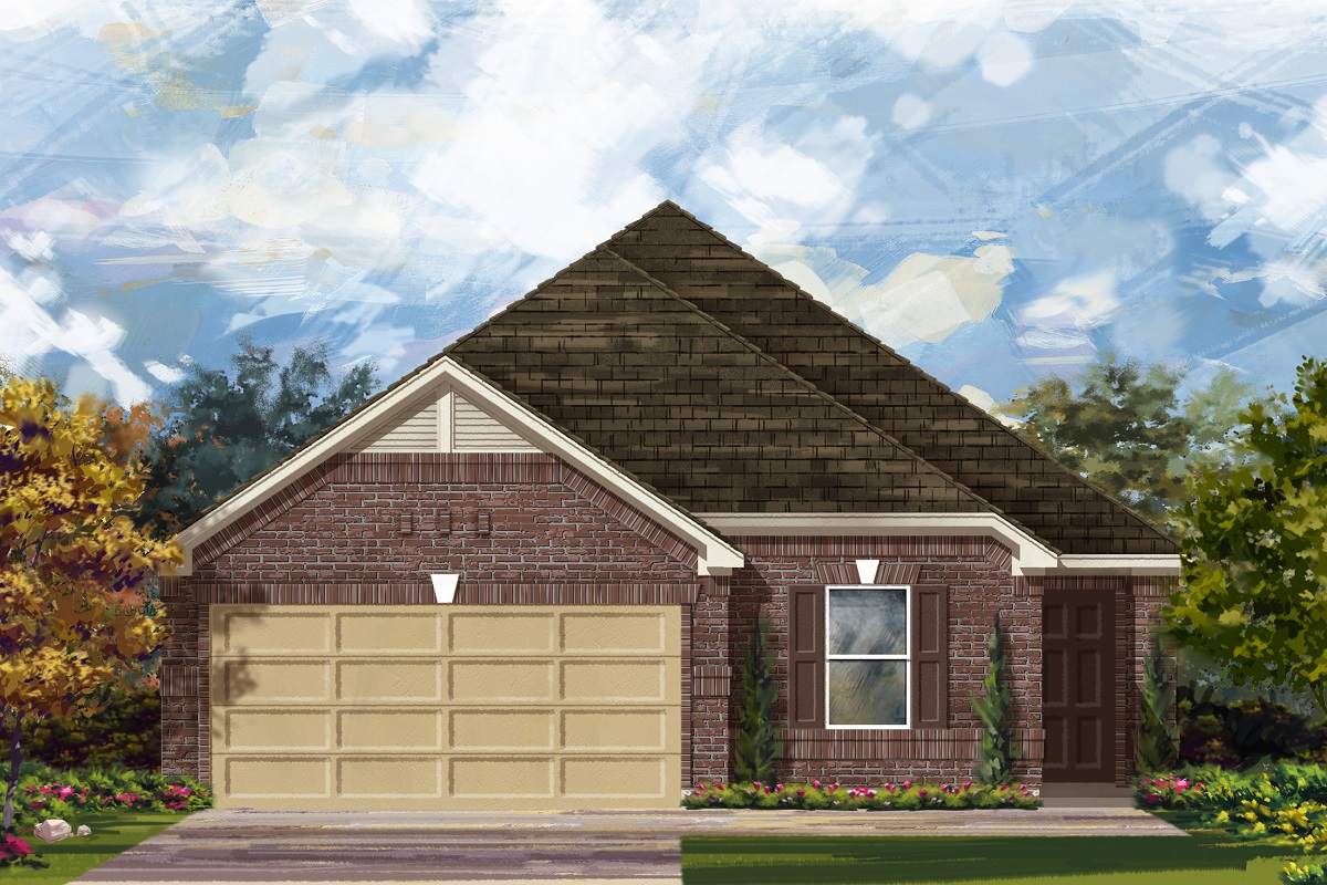 New Homes in Georgetown, TX - La Conterra - Heritage Collection Plan 1892 Elevation H