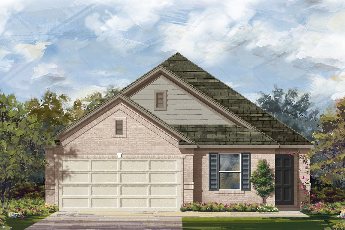 New Homes in Georgetown, TX - La Conterra - Heritage Collection Plan 1892 Elevation I