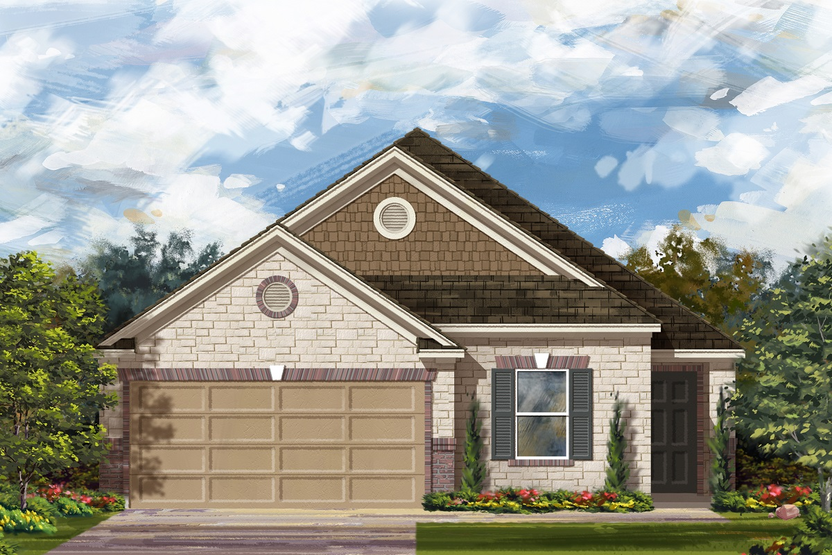 New Homes in Georgetown, TX - La Conterra - Heritage Collection Plan 1892 Elevation J