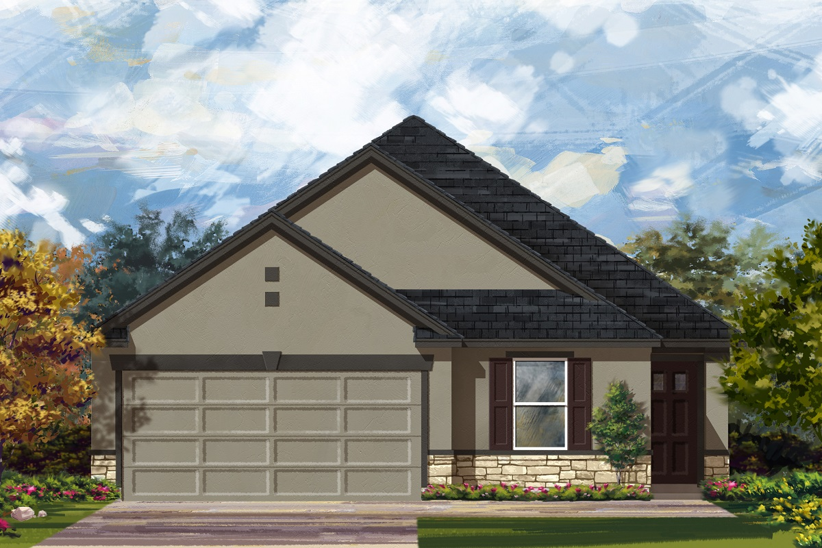 New Homes in Georgetown, TX - La Conterra - Heritage Collection Plan 1892 Elevation K