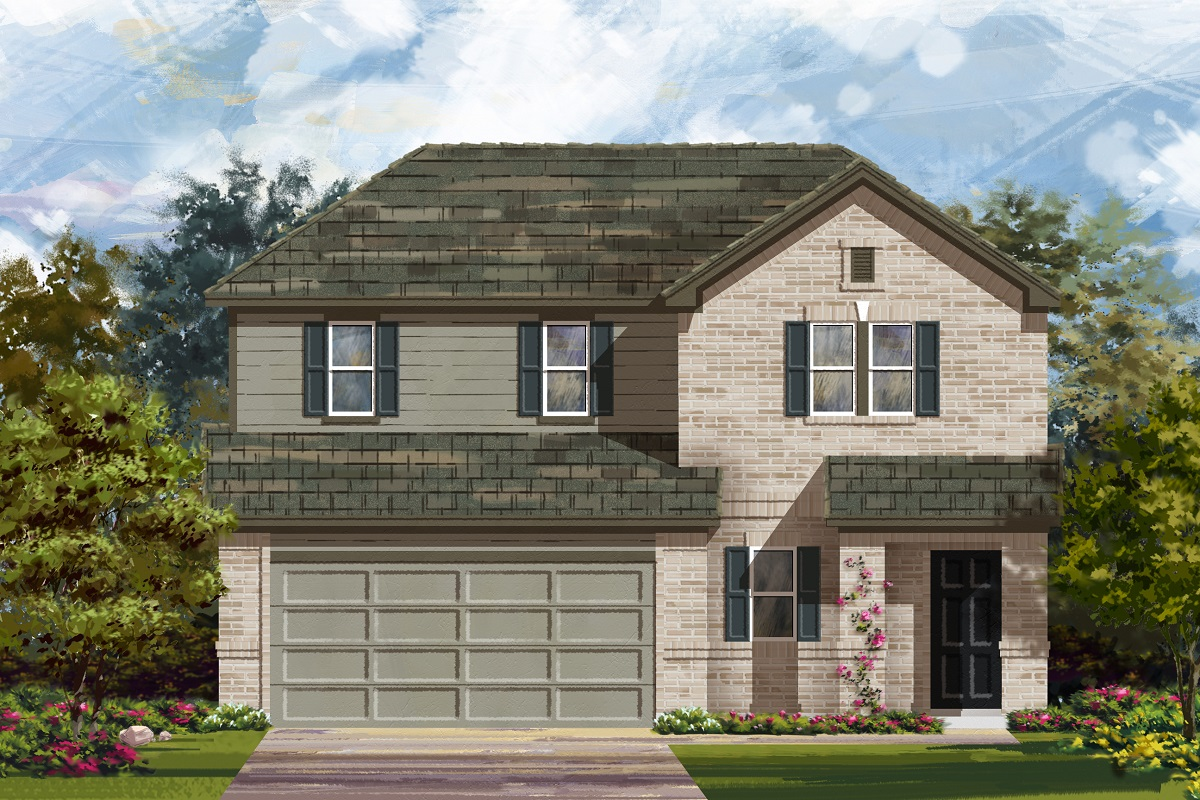 New Homes in Georgetown, TX - Elevation H