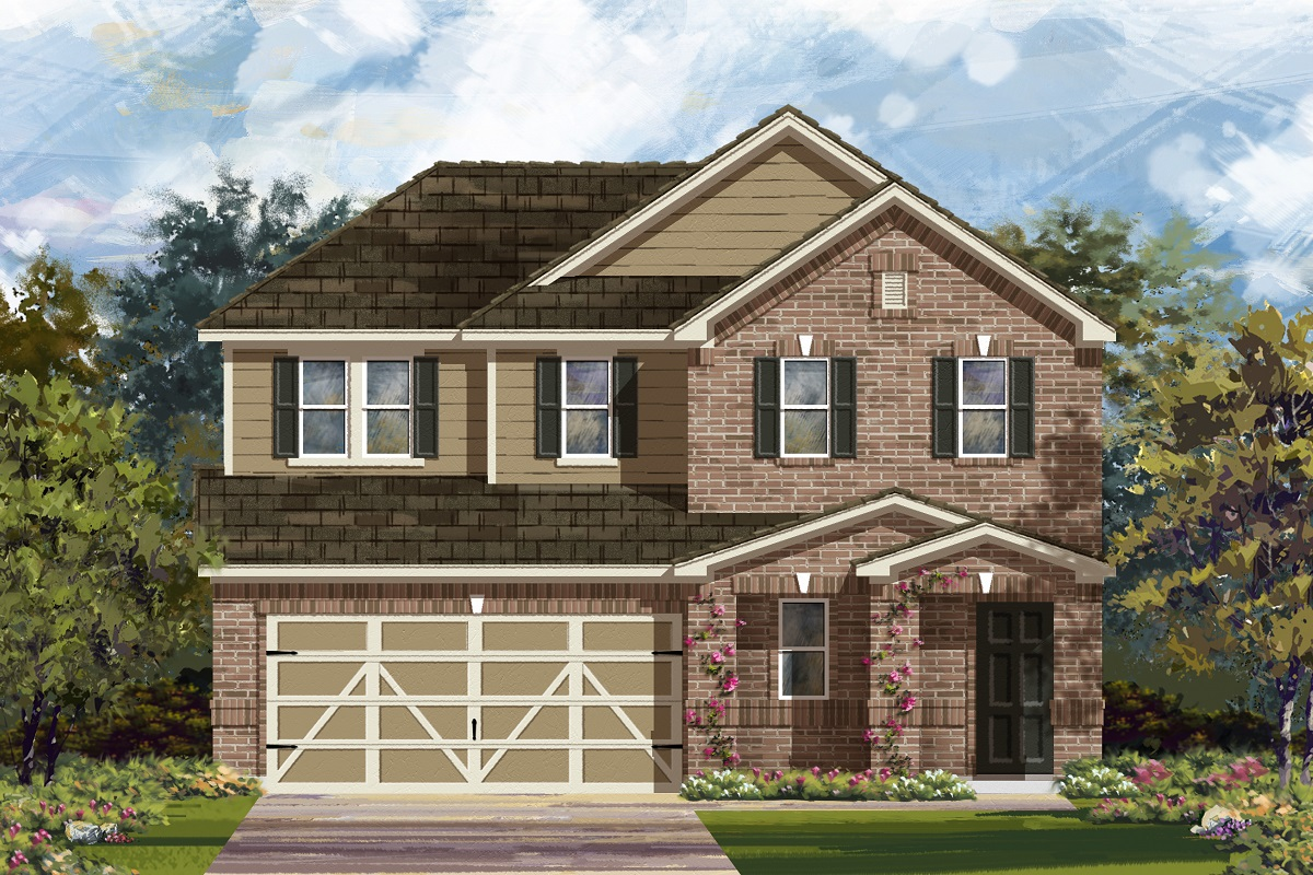 New Homes in Georgetown, TX - La Conterra - Heritage Collection Plan 2516 Elevation I