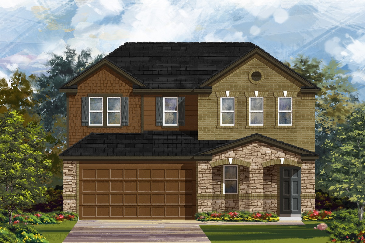 New Homes in Georgetown, TX - La Conterra - Heritage Collection Plan 2516 Elevation J