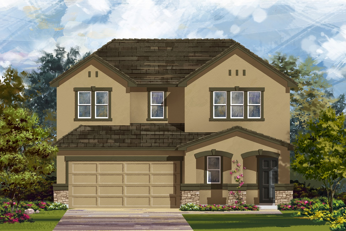 New Homes in Georgetown, TX - La Conterra - Heritage Collection Plan 2516 Elevation K