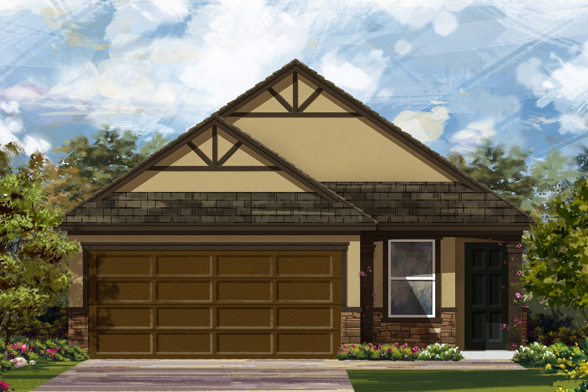New Homes in Georgetown, TX - Plan 1585