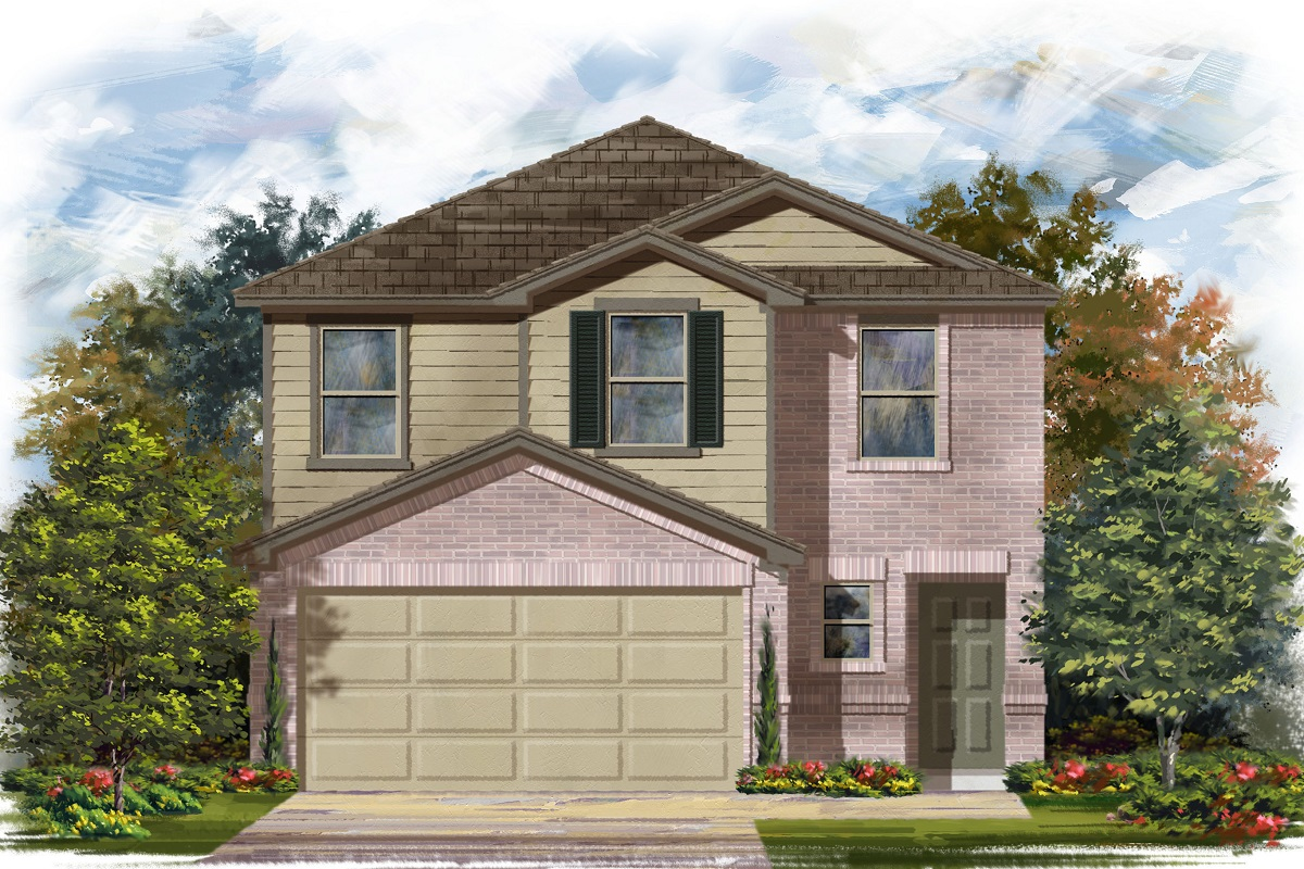 New Homes in Georgetown, TX - La Conterra - Heritage Collection Plan 1601 Elevation I