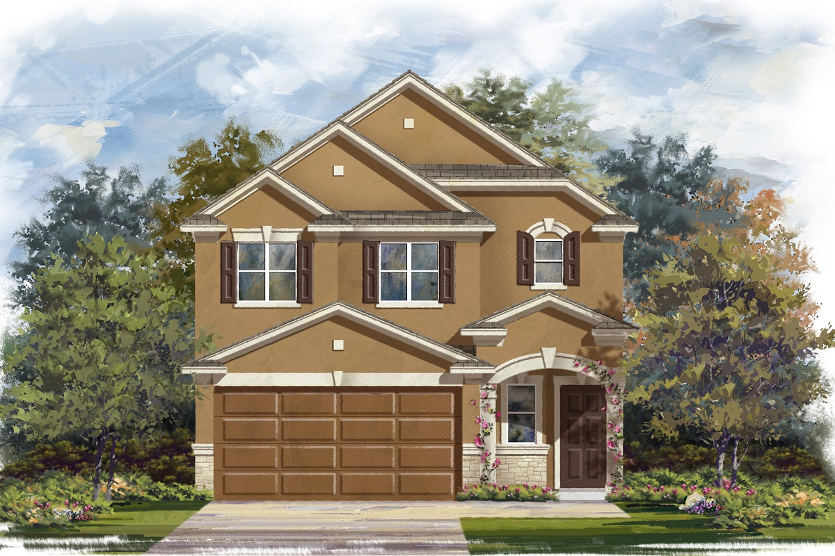 New Homes in Georgetown, TX - La Conterra - Heritage Collection Plan 1601 Elevation J