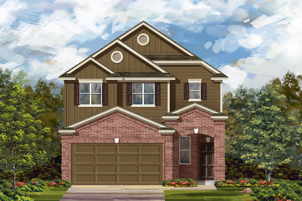 New Homes in Georgetown, TX - La Conterra - Heritage Collection Plan 1601 Elevation L