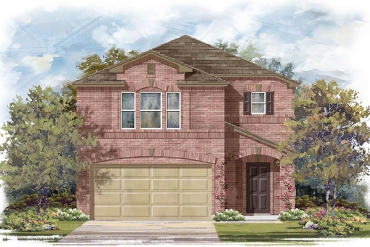 New Homes in Georgetown, TX - La Conterra - Heritage Collection Plan 1909 Elevation I