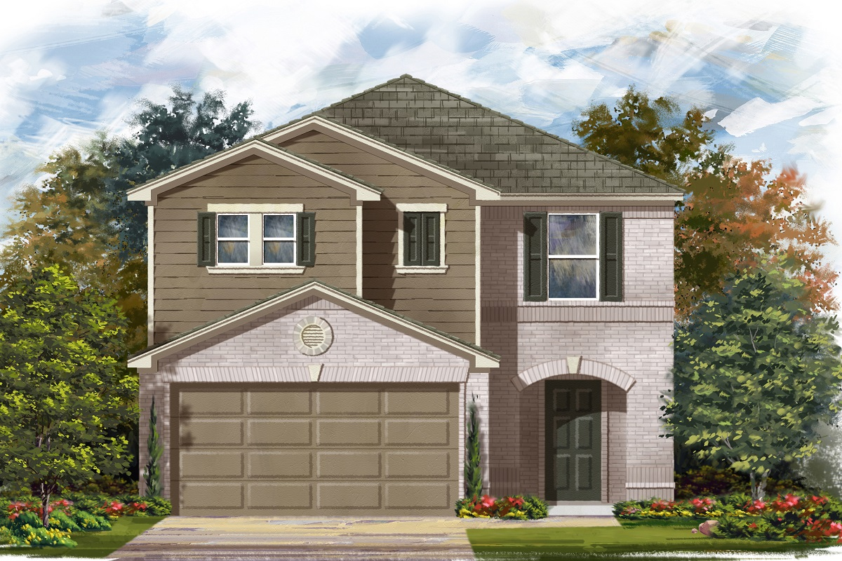 New Homes in Georgetown, TX - La Conterra - Heritage Collection Plan 2038 Elevation I