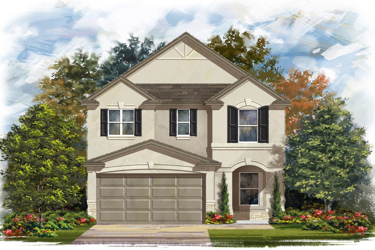 New Homes in Georgetown, TX - Elevation J