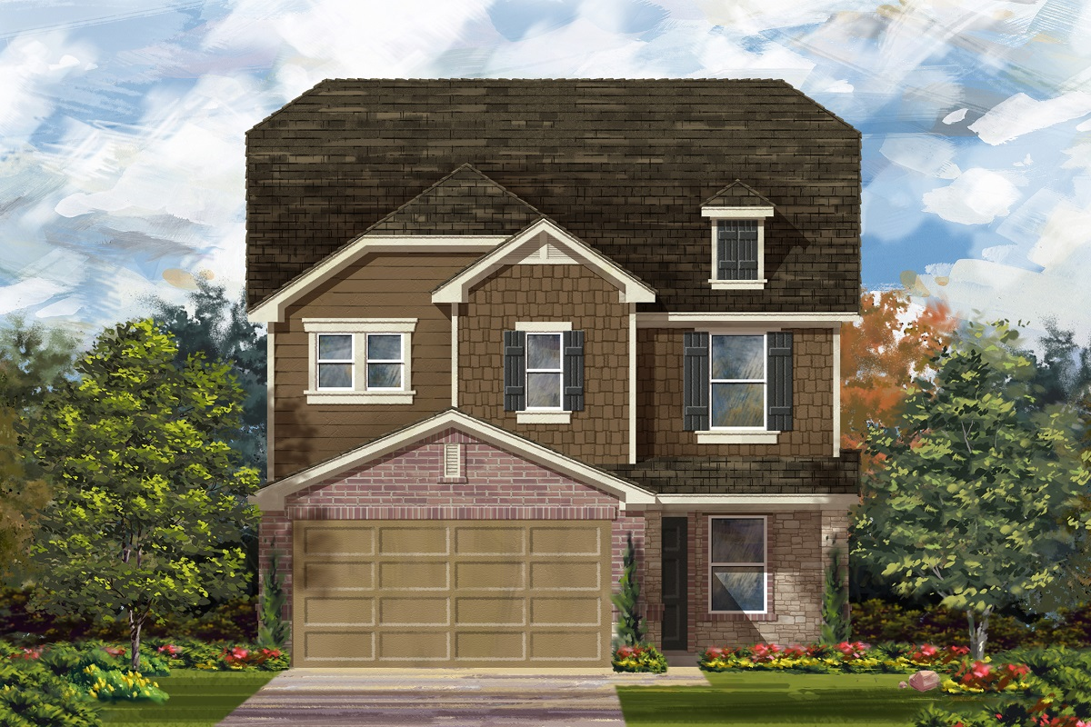 New Homes in Georgetown, TX - Elevation K