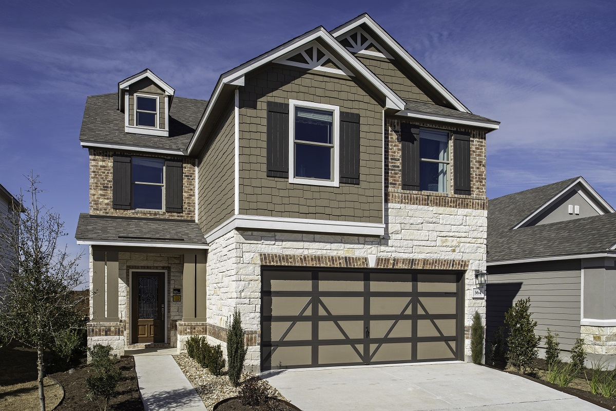 New Homes in Georgetown, TX - La Conterra - Heritage Collection Plan 1909