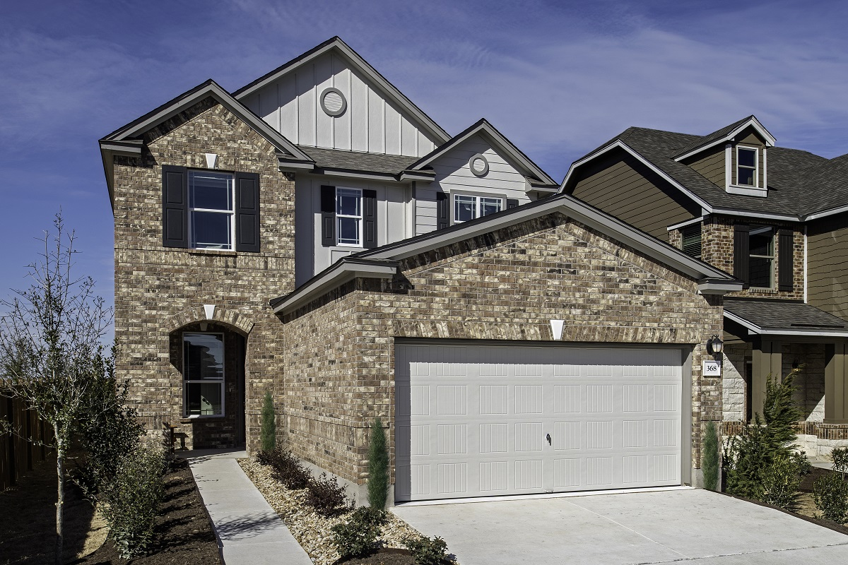 New Homes in Georgetown, TX - La Conterra - Heritage Collection Plan 2411